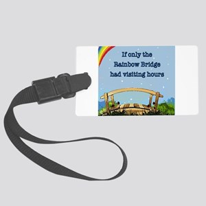 Rainbow Bridge Luggage Tag