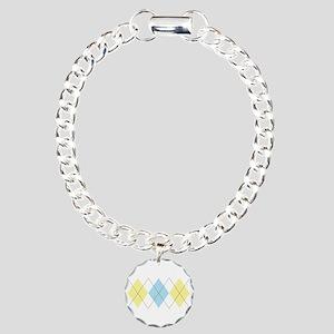 Argyle Pattern Bracelet