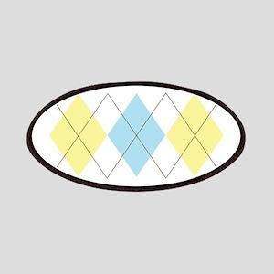 Argyle Pattern Patches
