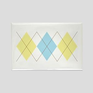 Argyle Pattern Magnets