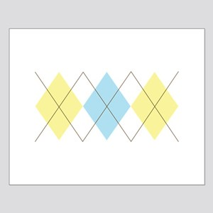 Argyle Pattern Posters