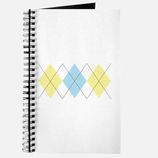 Argyle Pattern Journal