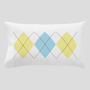 Argyle Pattern Pillow Case