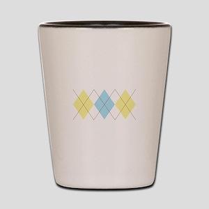 Argyle Pattern Shot Glass