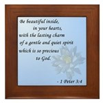Be Beautiful... Framed Tile