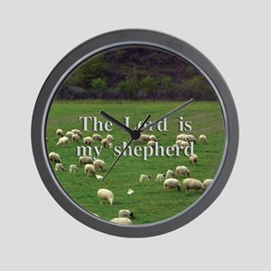 Lord is My Shepherd - Design 2 Wall Clock