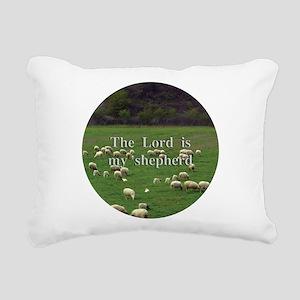 Lord is My Shepherd - Design 2 Rectangular Canvas