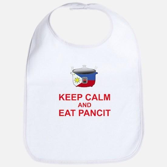 Keep Calm and Eat Pancit Bib