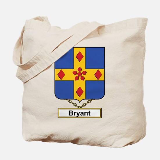 Bryant Family Crest Tote Bag