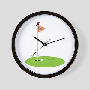 Golf Green Wall Clock
