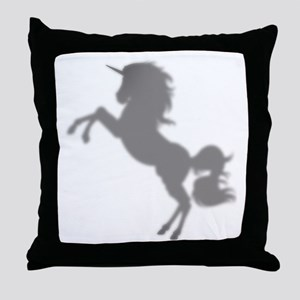 I Love Unicorns Throw Pillow