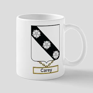 Carey Family Crest Mugs