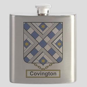 Covington Family Crest Flask