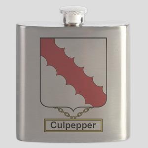 Culpepper Family Crest Flask