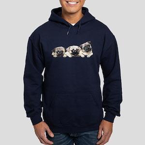 Pocket Pugs Hoodie (dark)
