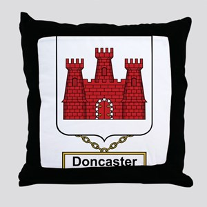 Doncaster Family Crest Throw Pillow