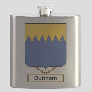 Dunham Family Crest Flask