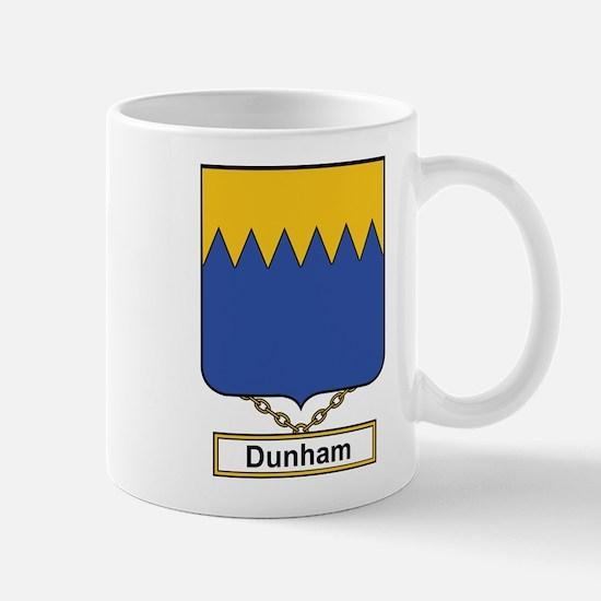 Dunham Family Crest Mugs