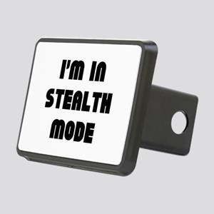 I'm In Stealth Mode Rectangular Hitch Cover