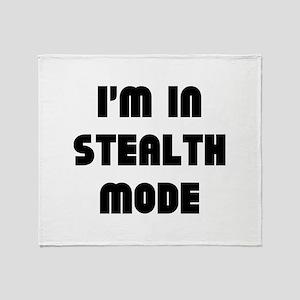 I'm In Stealth Mode Stadium Blanket