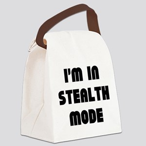 I'm In Stealth Mode Canvas Lunch Bag