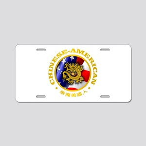 Chinese-American Aluminum License Plate