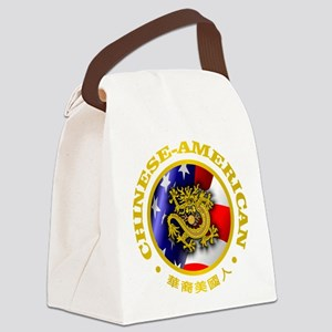 Chinese-American Canvas Lunch Bag