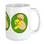 The Baby Bird is about to Hatch Large Mug