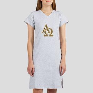 """3-D"" Golden Alpha and Omega Symbol Women's Nights"