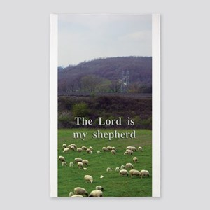 The Lord is My Shepherd - Design 4 3'x5' Area Rug