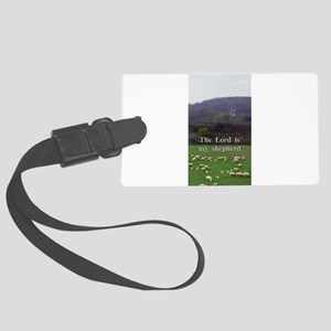 The Lord is My Shepherd - Design 4 Luggage Tag