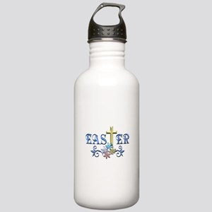 Easter Cross Stainless Water Bottle 1.0L