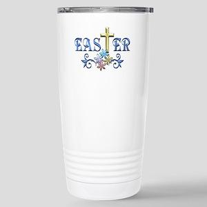 Easter Cross Stainless Steel Travel Mug