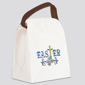 Easter Cross Canvas Lunch Bag