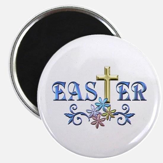 """Easter Cross 2.25"""" Magnet (100 pack)"""