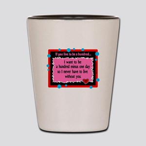 A Hundred Minus One Day-Winnie The Pooh Shot Glass