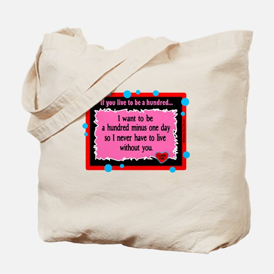 A Hundred Minus One Day-Winnie The Pooh Tote Bag