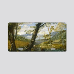 Annibale Carracci - River L Aluminum License Plate