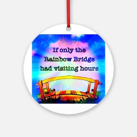 Rainbow Bridge Ornament (Round)