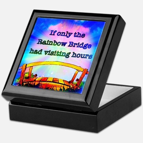 Rainbow Bridge Keepsake Box