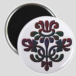 Fraser Plaid Thistle Magnet