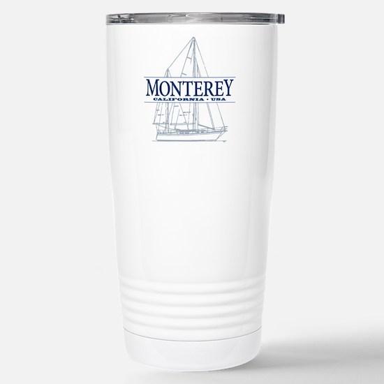 Monterey - Stainless Steel Travel Mug
