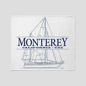 Monterey - Throw Blanket