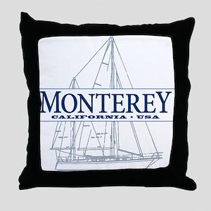 Monterey - Throw Pillow
