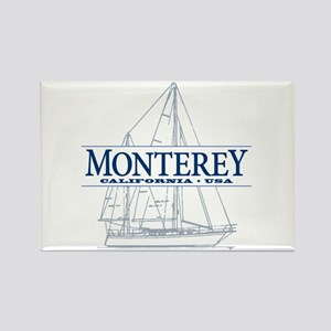 Monterey - Rectangle Magnet