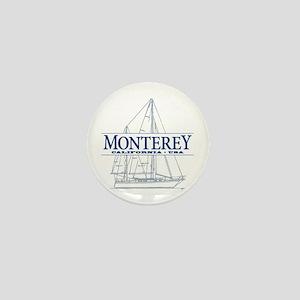 Monterey - Mini Button