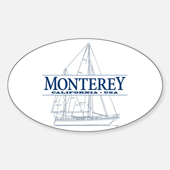 Monterey - Sticker (Oval)