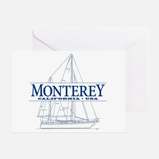 Monterey - Greeting Card