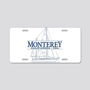 Monterey - Aluminum License Plate