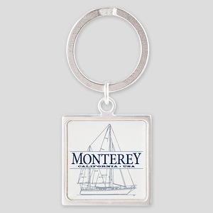Monterey - Square Keychain